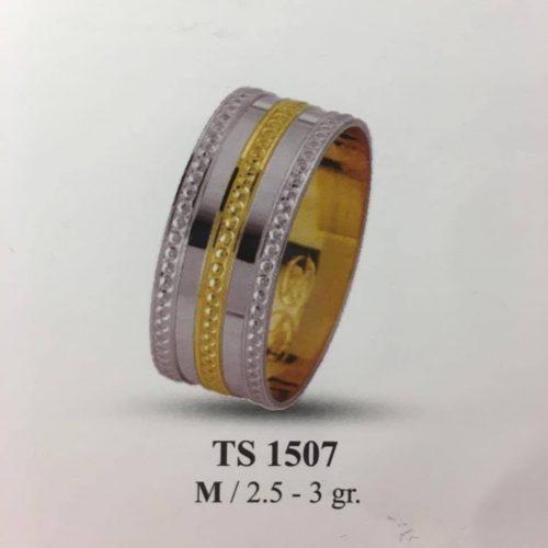 ARANY Bicolor Karikagyűrű – TS1507