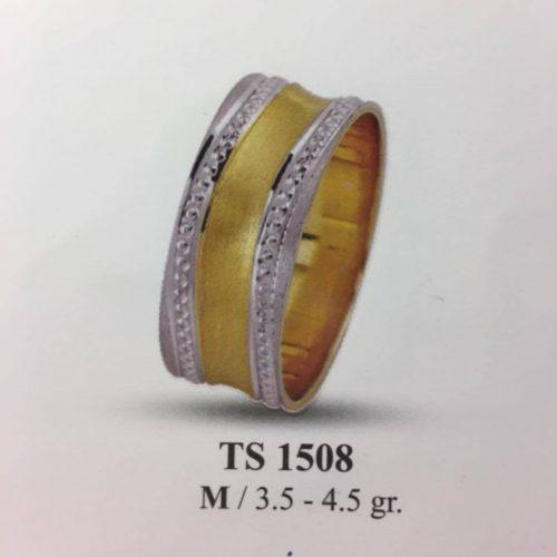 ARANY Bicolor Karikagyűrű – TS1508