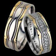 ARANY Bicolor Karikagyűrű – TS151