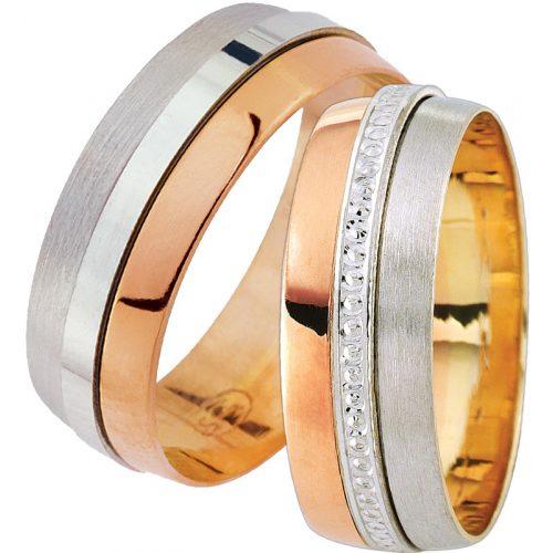ARANY Bicolor Karikagyűrű – TS1627