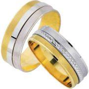 ARANY Bicolor Karikagyűrű – TS1628