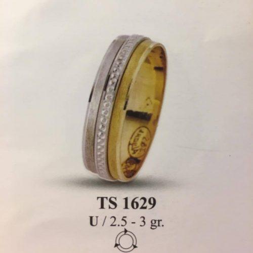 ARANY Bicolor Karikagyűrű – TS1629