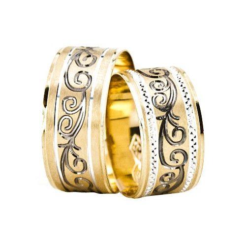 ARANY Bicolor Karikagyűrű – TS1660
