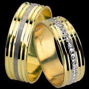 ARANY Bicolor Karikagyűrű – TS1760