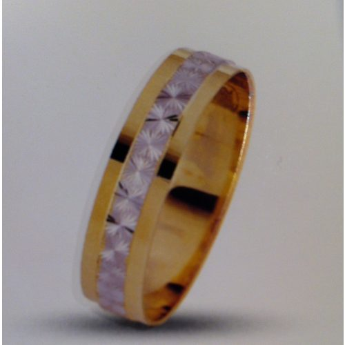 ARANY Bicolor Karikagyűrű – TS1802