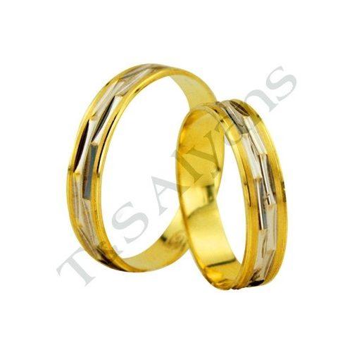 ARANY Bicolor Karikagyűrű – TS1826