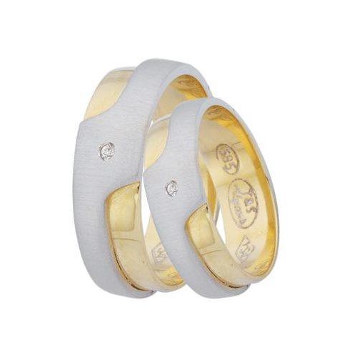 ARANY Bicolor Karikagyűrű TS22