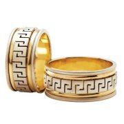 ARANY Bicolor Karikagyűrű – TS233