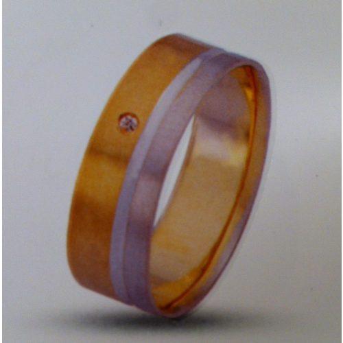 ARANY Bicolor Karikagyűrű – TS275