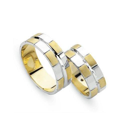 ARANYBicolor Karikagyűrű – TS305