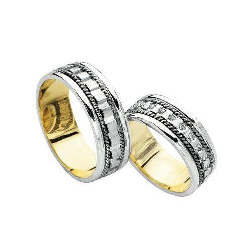 ARANY Bicolor Karikagyűrű – TS314