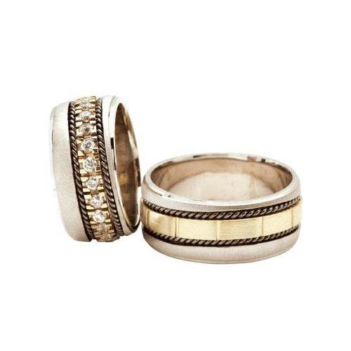 ARANY Bicolor Karikagyűrű – TS348