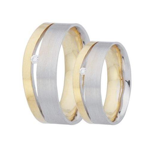 ARANY Bicolor Karikagyűrű – TS35
