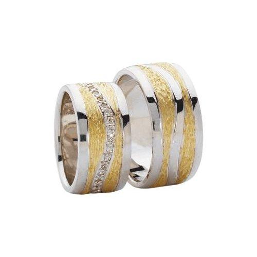 ARANY Bicolor Karikagyűrű – TS355