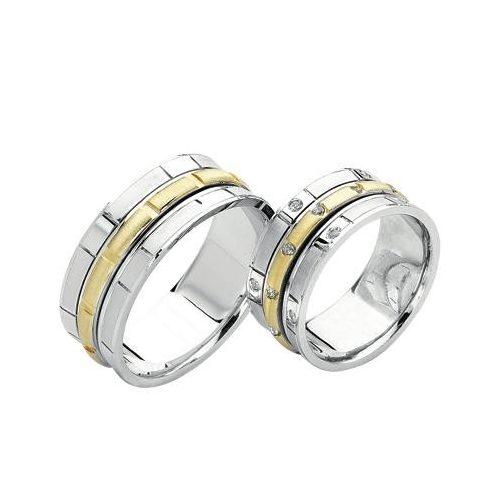 ARANY Bicolor Karikagyűrű – TS360