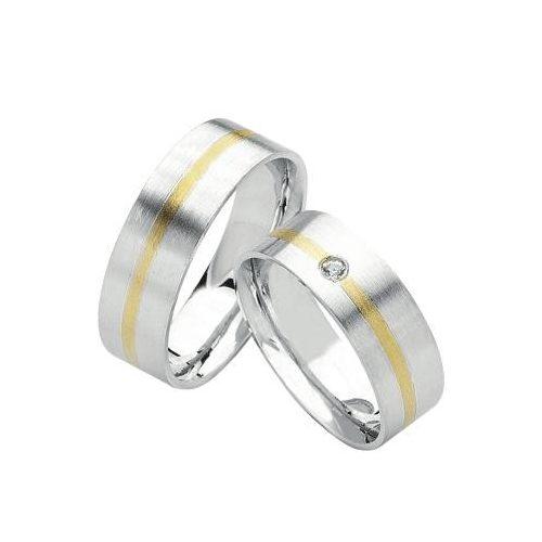 ARANY Bicolor Karikagyűrű – TS365