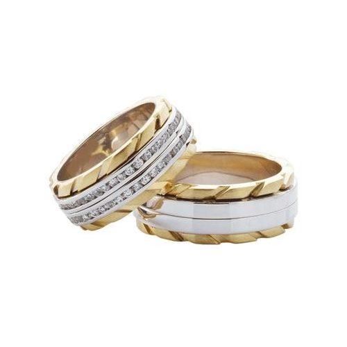 ARANY Bicolor Karikagyűrű – TS386YB