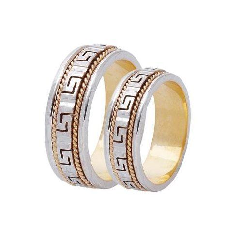 ARANY Bicolor Karikagyűrű – TS387
