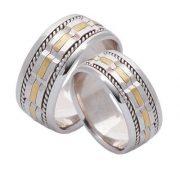 ARANY Bicolor Karikagyűrű – TS388