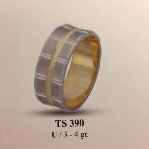 ARANY Bicolor Karikagyűrű – TS390