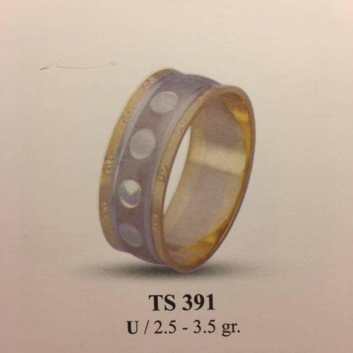 ARANY Bicolor Karikagyűrű – TS391