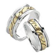 ARANY Bicolor Karikagyűrű – TS398