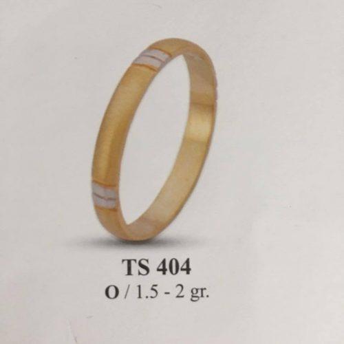 ARANY Bicolor Karikagyűrű – TS404