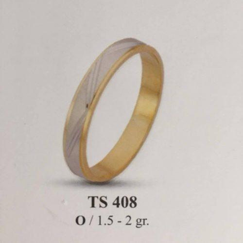 ARANY Bicolor Karikagyűrű – TS408