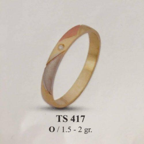 ARANY Bicolor Karikagyűrű – TS417
