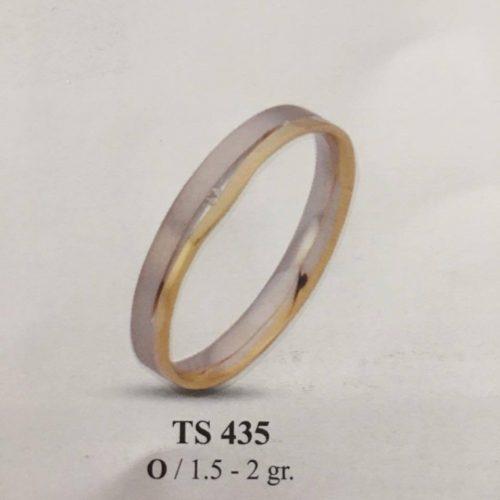 ARANY Bicolor Karikagyűrű – TS435