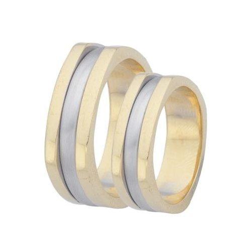 ARANY Bicolor Karikagyűrű – TS45