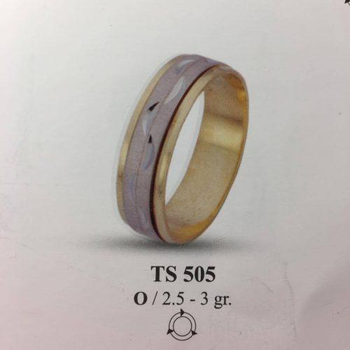 ARANY Bicolor Karikagyűrű – TS505