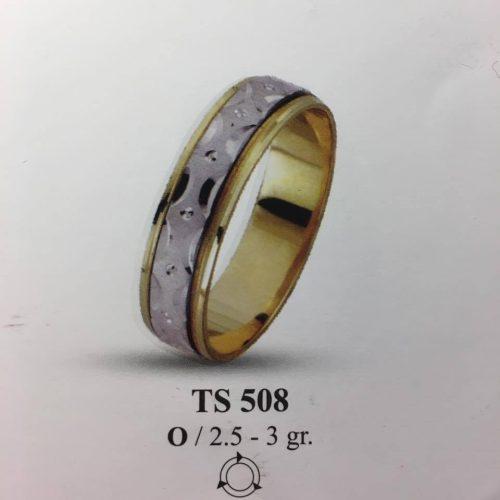 ARANY Bicolor Karikagyűrű – TS508
