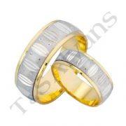 ARANY Bicolor Karikagyűrű – TS510