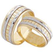 ARANY Bicolor Karikagyűrű – TS515