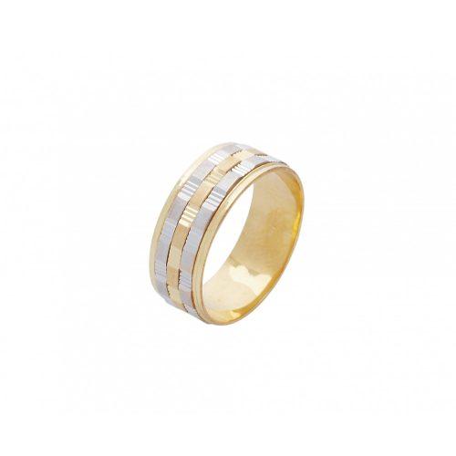 ARANY Bicolor Karikagyűrű – TS517