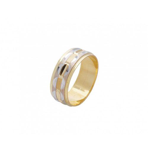 ARANY Bicolor Karikagyűrű – TS519
