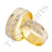 ARANY Bicolor Karikagyűrű – TS520