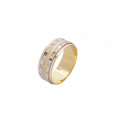 ARANY Bicolor Karikagyűrű – TS522