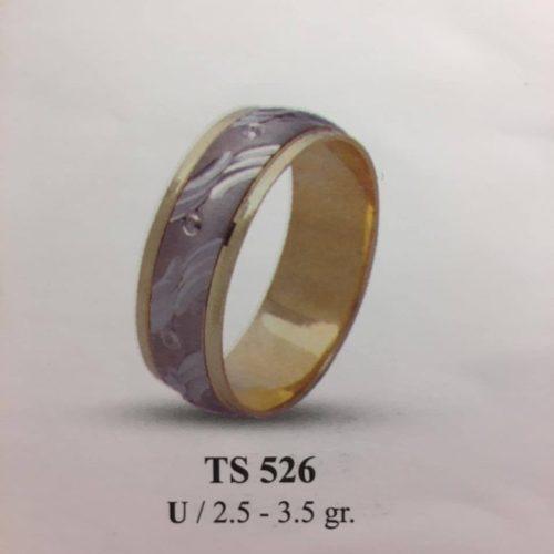 ARANY Bicolor Karikagyűrű – TS526
