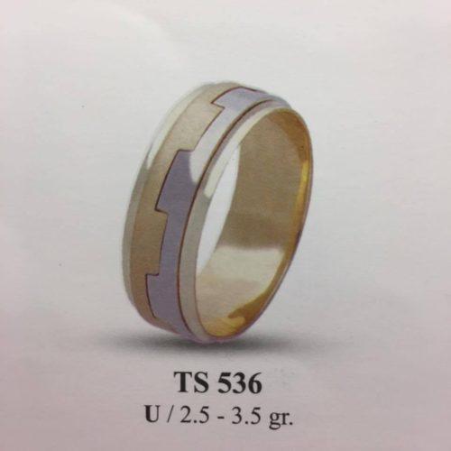 ARANY Bicolor Karikagyűrű – TS536