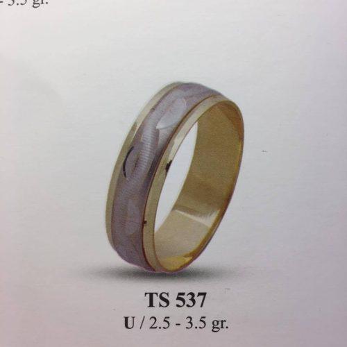 ARANY Bicolor Karikagyűrű – TS537
