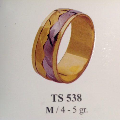 ARANY Bicolor Karikagyűrű – TS538