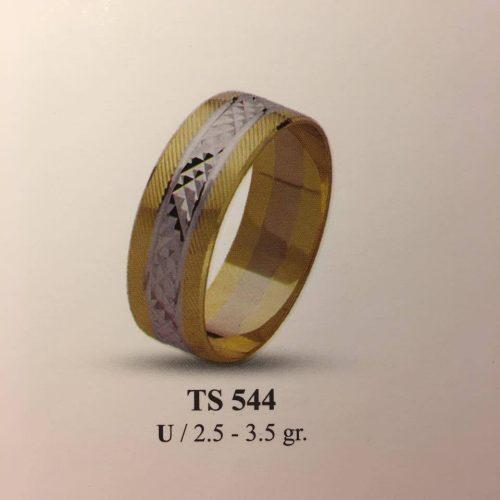 ARANY Bicolor Karikagyűrű – TS544