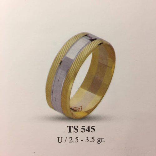 ARANY Bicolor Karikagyűrű – TS545
