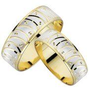 ARANY Bicolor Karikagyűrű – TS569