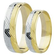 ARANY Bicolor Karikagyűrű – TS571