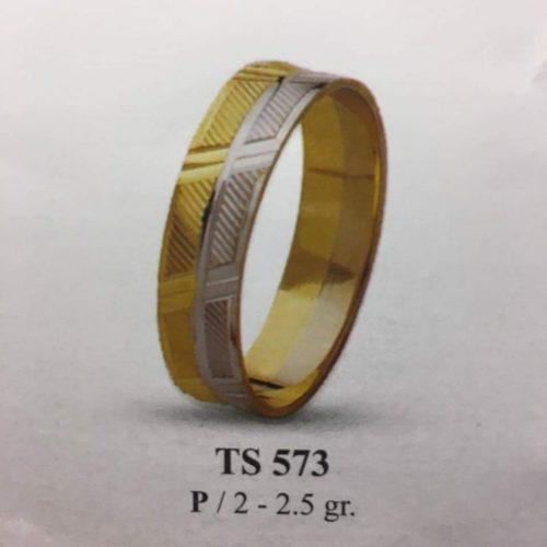 ARANY Bicolor Karikagyűrű – TS573