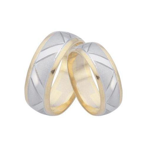 ARANY Bicolor Karikagyűrű – TS59