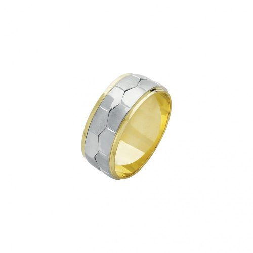 ARANY Bicolor Karikagyűrű – TS596